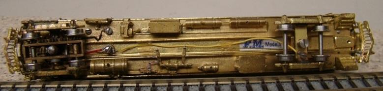 GHB Int'l / FM Models (Korea) Brass Brill 250 Gas-Electric