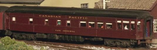 Geoff Gooderham Canadian Pacific Passenger Cars